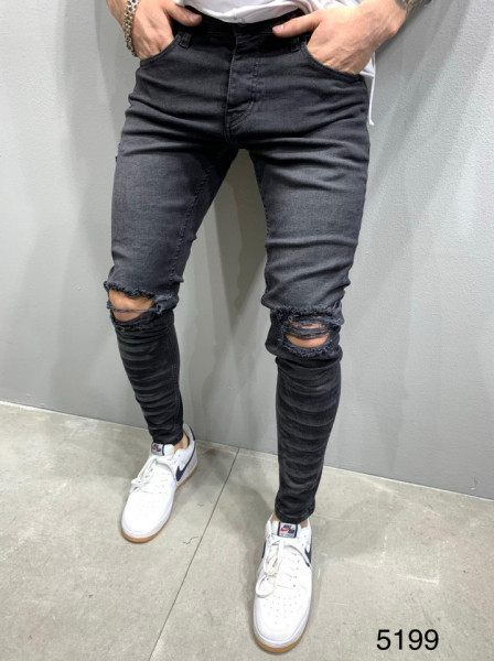 BLUGI SLIM FIT TIGER BLACK COD : BGAS424