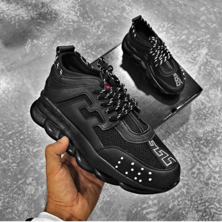 SNEAKERS CHAIN REACTION ALLBLACK COD : PCLG18