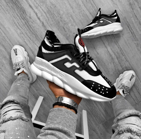 SNEAKERS CHAIN REACTION WHITE-BLACK COD : PCLG16