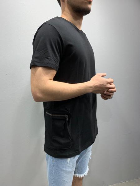 TRICOU HOINAR TWO POCKET BLACK COD : TSAS159