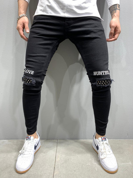 BLUGI SLIM FIT HUNTER BLACK COD : BGAS422