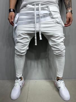 PANTALONI HOINAR 3 WHITE COD : BGAS476