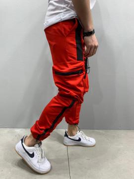 PANTALONI VAGABOND RED&BLACK COD : BGAS433