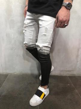 BLUGI ZIPPER BLACK&WHITE 2 COD : BGAS263