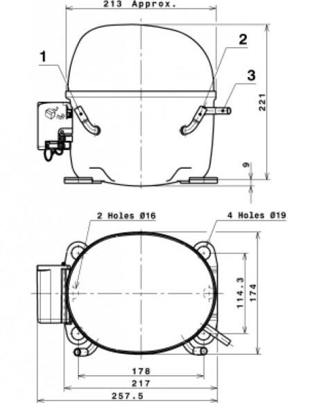 compresor mx18tb cubigel