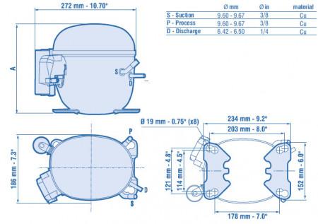 compresor nt6217z