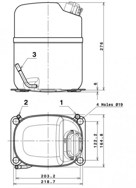 compresor cubigel ms26tb