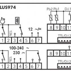 Termostat Eliwell ID Plus 974