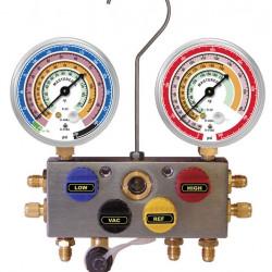 Baterie manometre freon Mastercool 4 cai