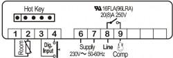 Controler (termostat) Dixell XR02CX