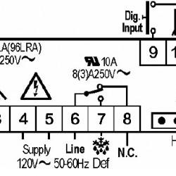 Termostat Dixell XR06CX