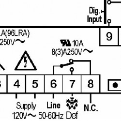 Termostat Dixell XR60CX