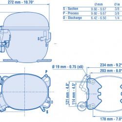 Compresor Aspera NT6222GK