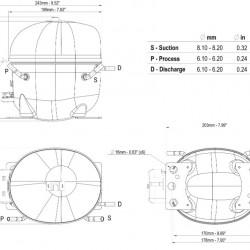 Compresor Aspera NEU6215GK