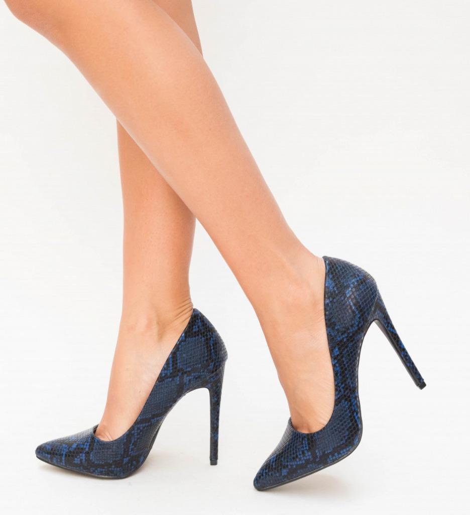 Обувки Enio Сини