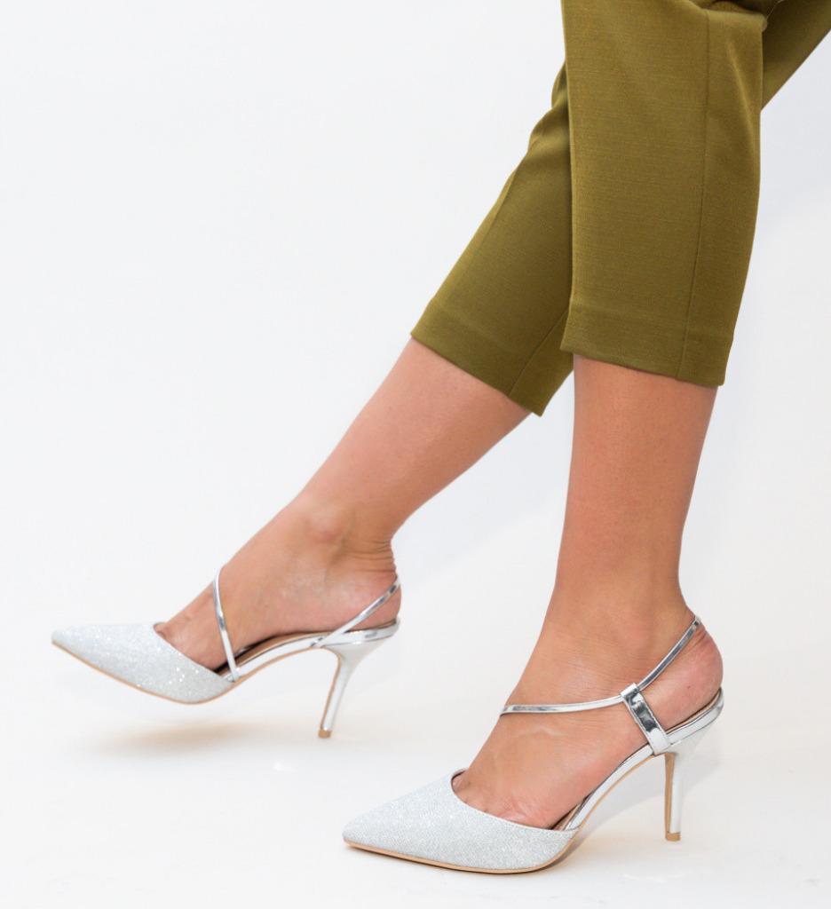 Обувки Markin Сребърни