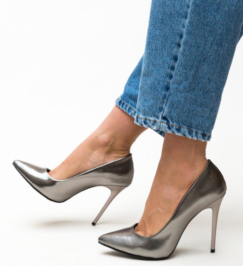 Обувки Selen Сиви