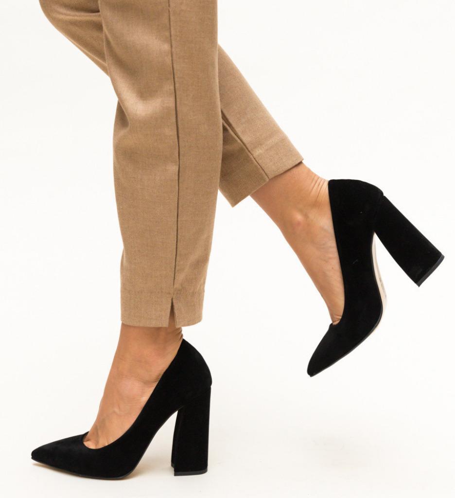 Обувки Soreen Черни