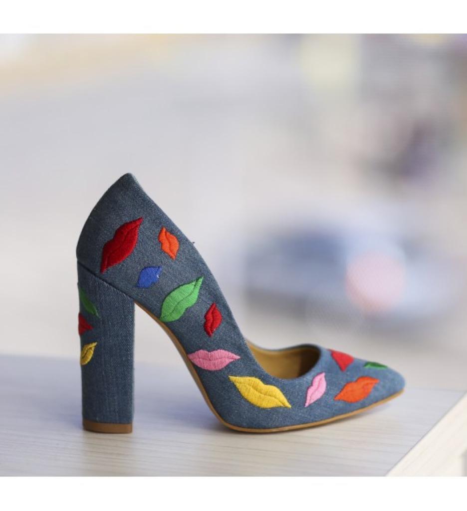 Обувки Липс Сини