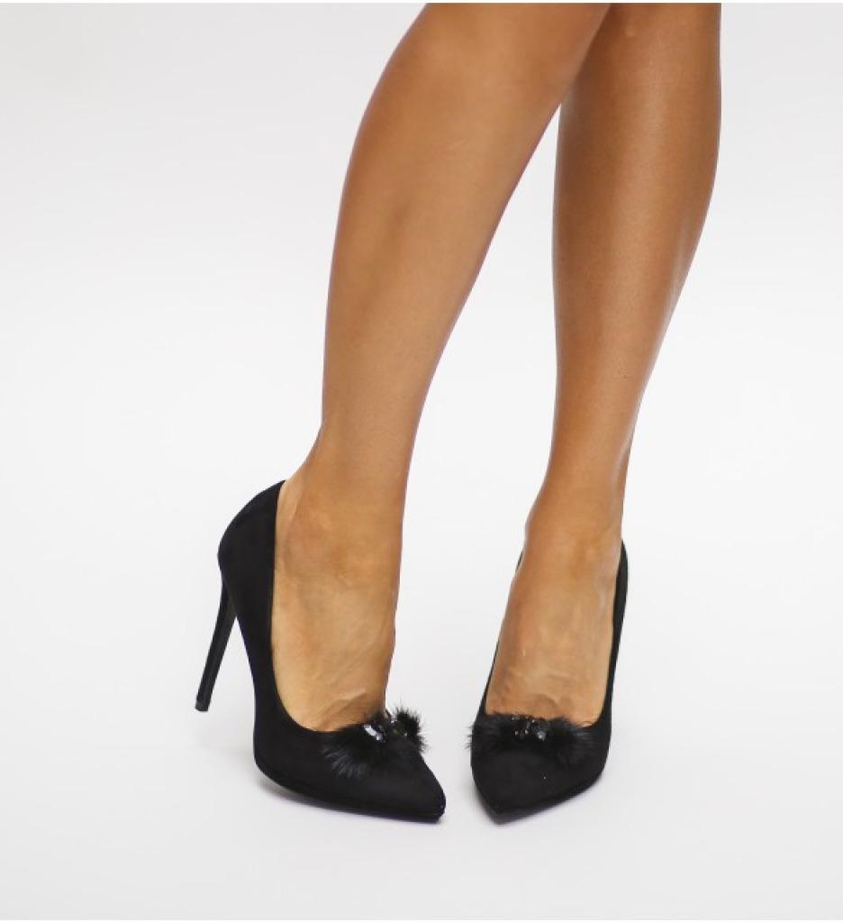 Обувки Сегал Черни