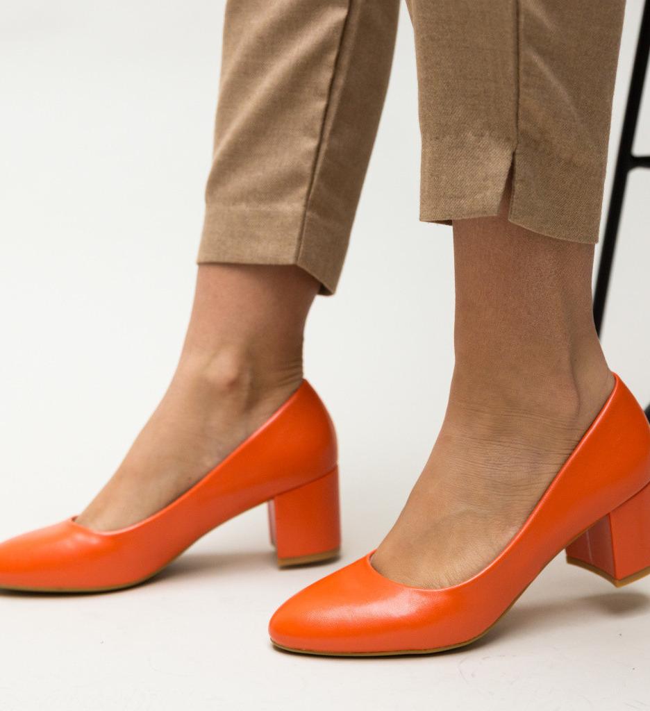 Обувки Hummer Оранжеви