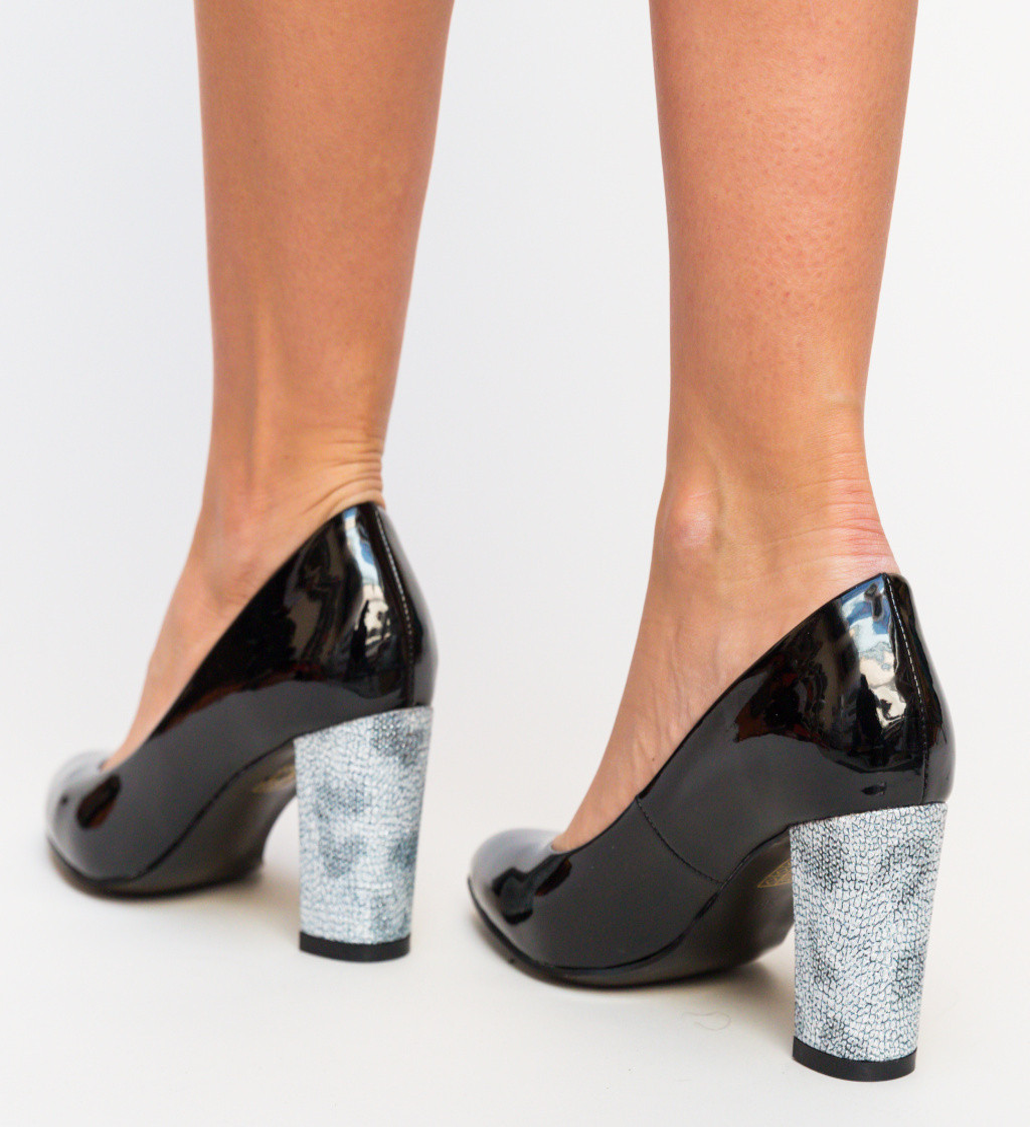 Обувки Chen Черни