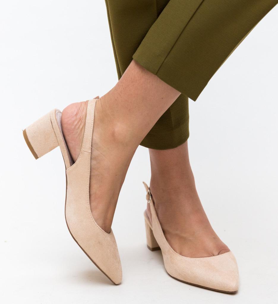 Обувки Khalil Бежови