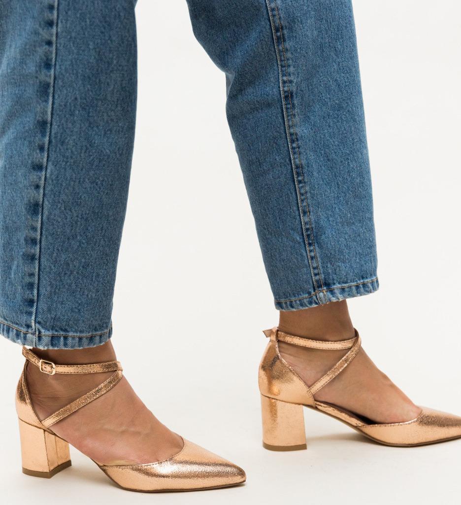 Обувки Rello Златни 2