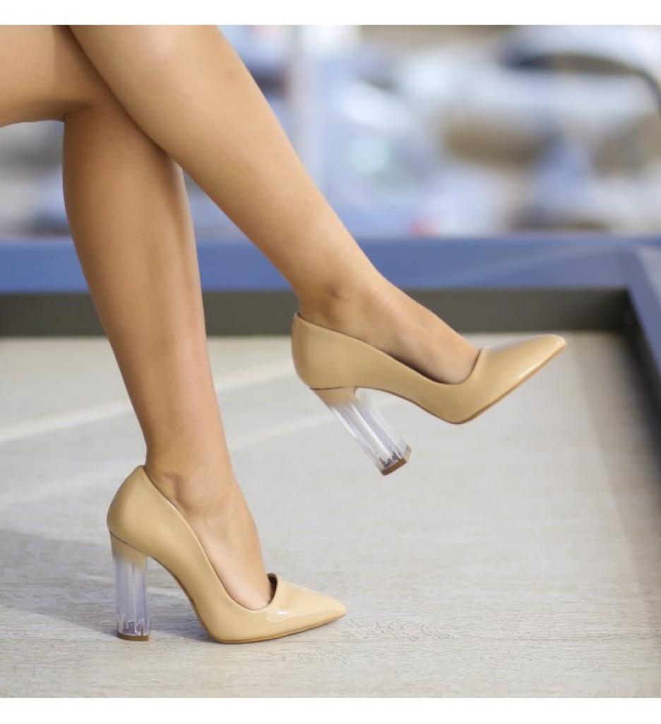Обувки Бахар Бежови
