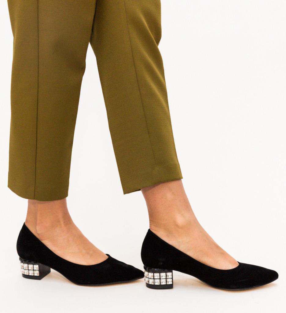 Обувки Edit Черни