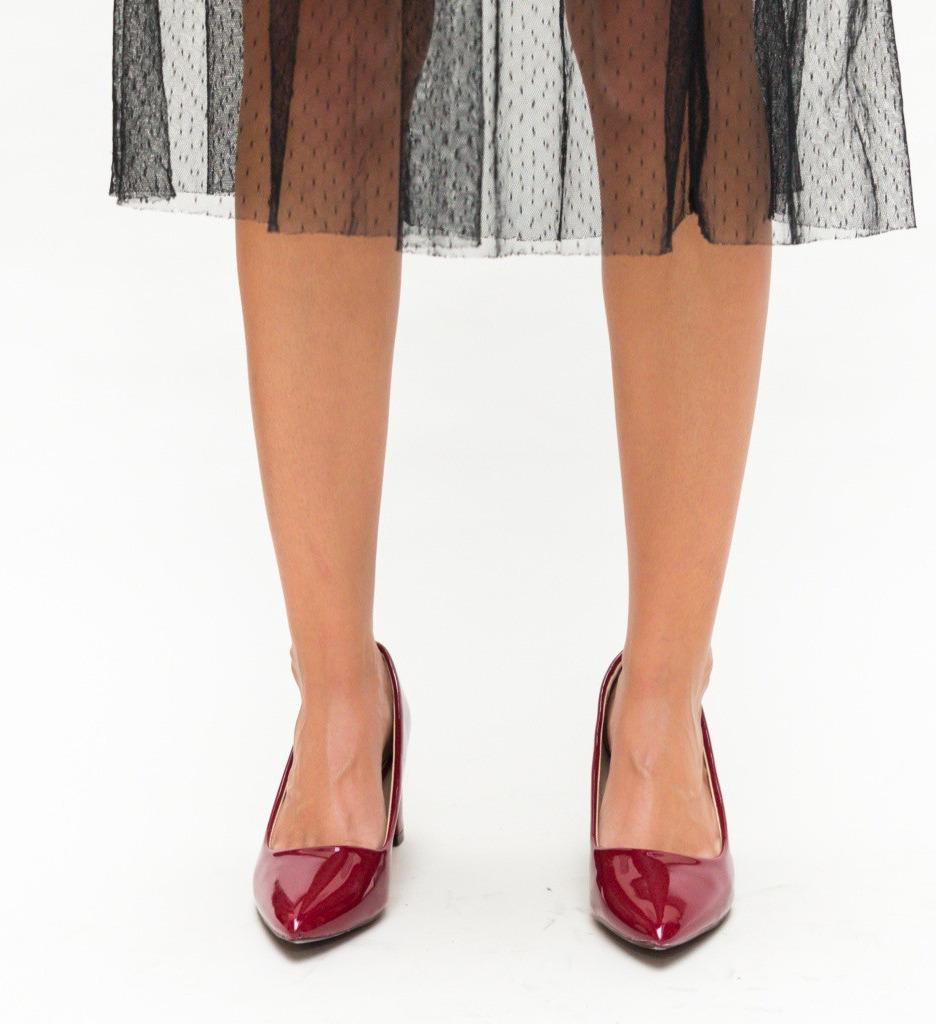 Обувки Sexton Гранатови
