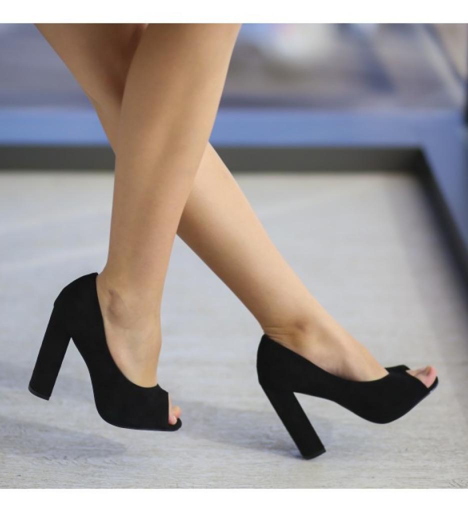 Обувки Гутес Черни