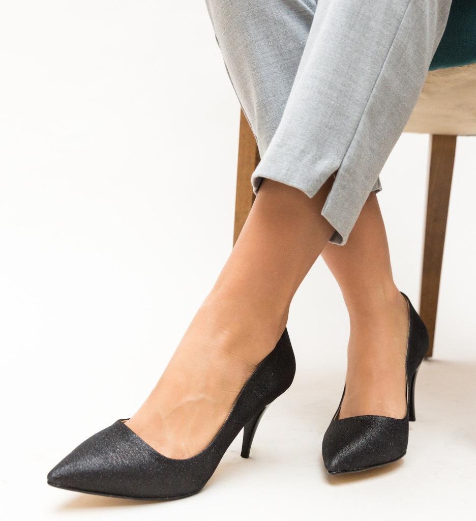 Обувки Buhas Черни 3
