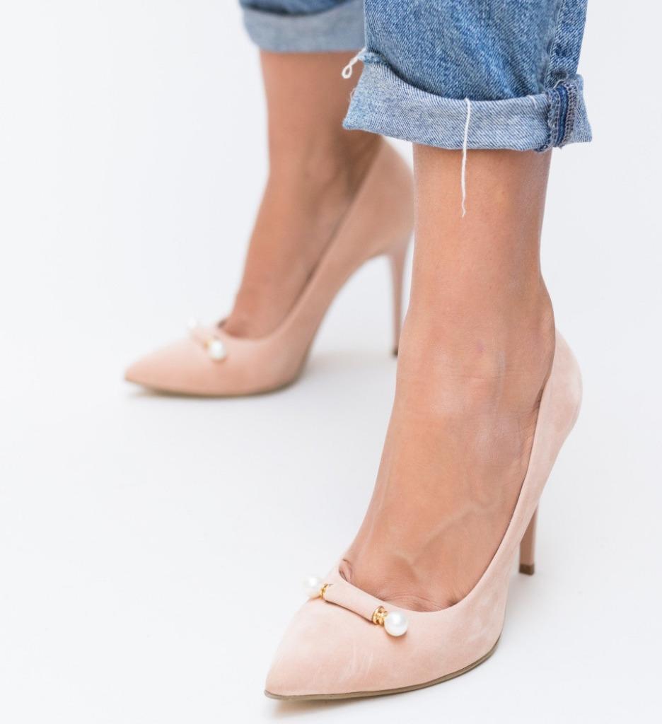 Обувки Delia Розови 2