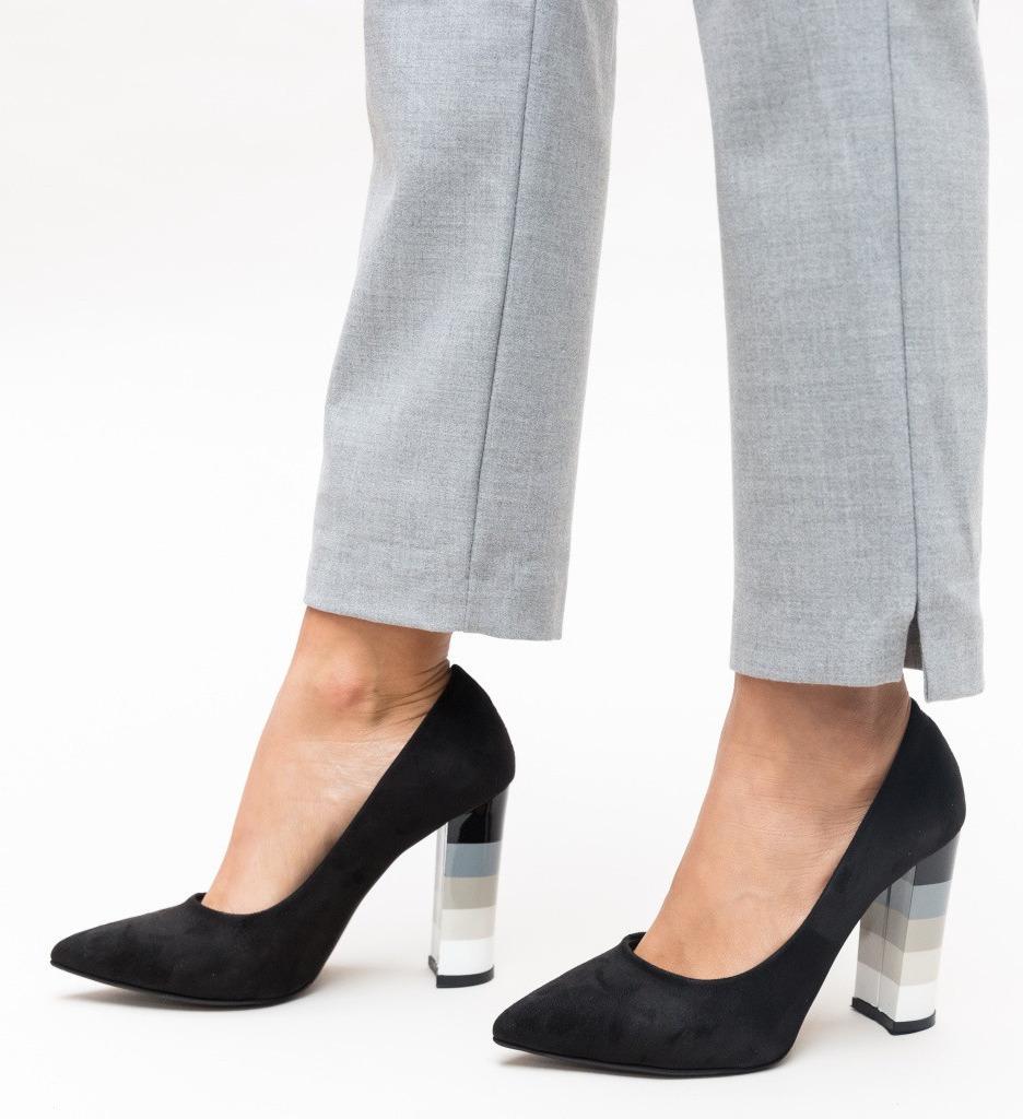Обувки Mosor Черни