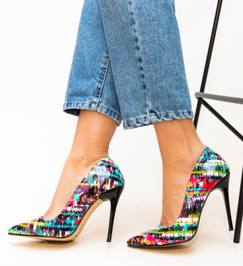 Обувки Mozaiq Черни