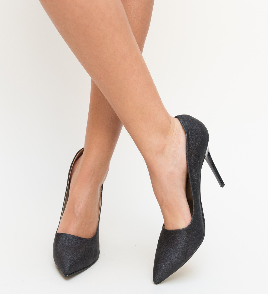 Обувки Myma Черни