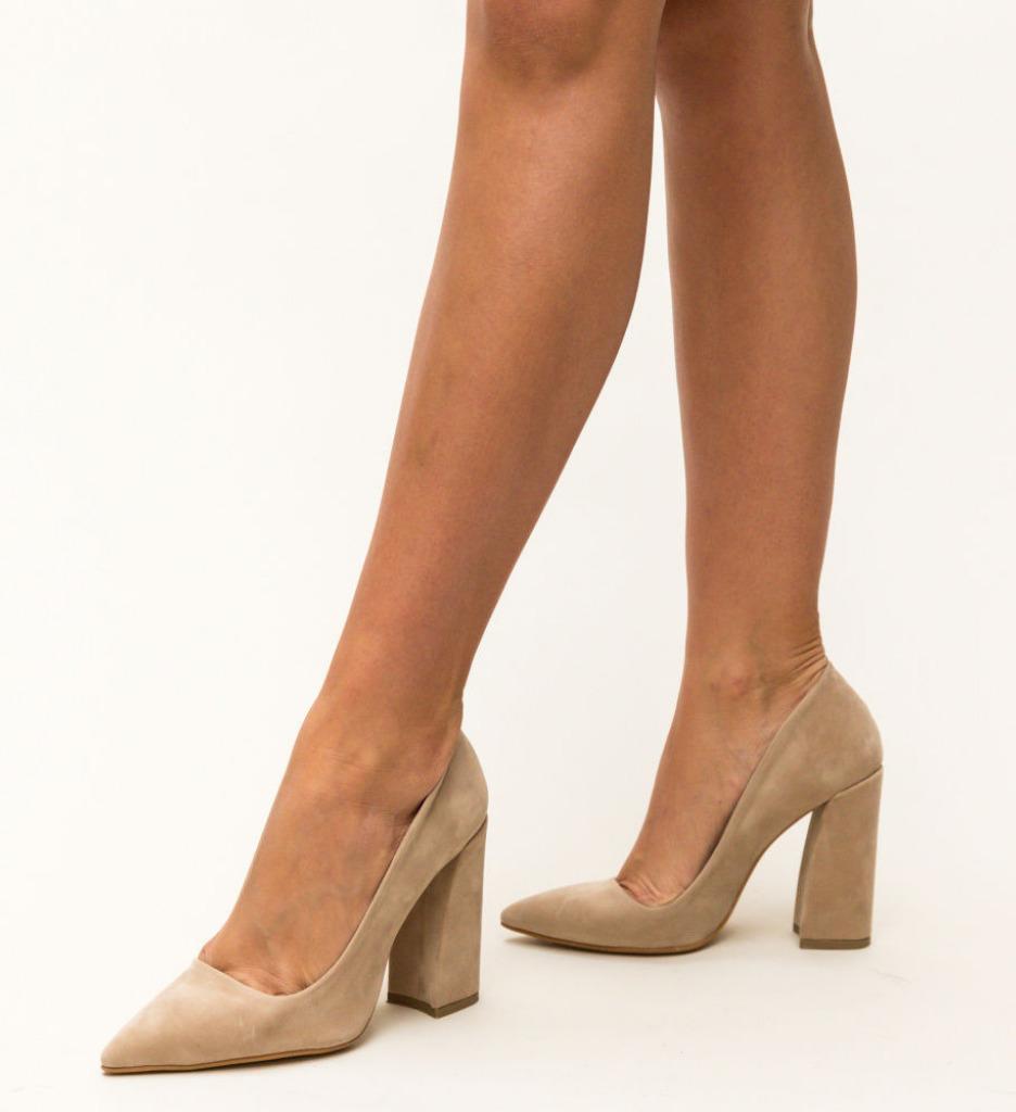Обувки Salim Бежови