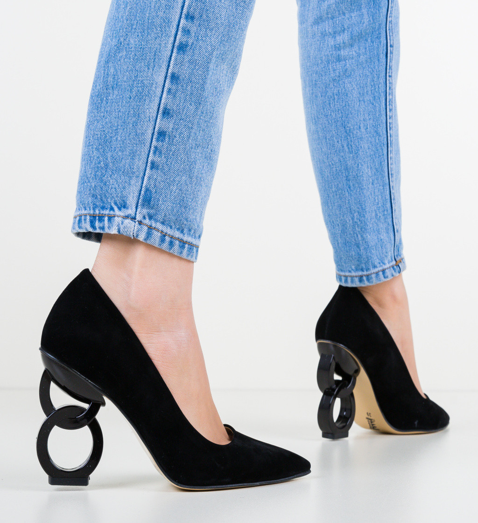 Обувки Simoni Черни