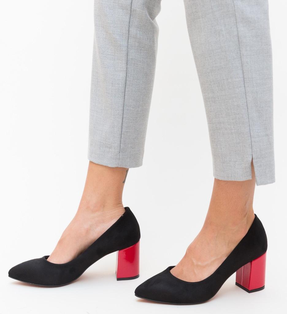 Обувки Sobiz Черни 3
