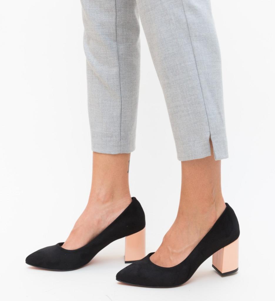 Обувки Sobiz Черни