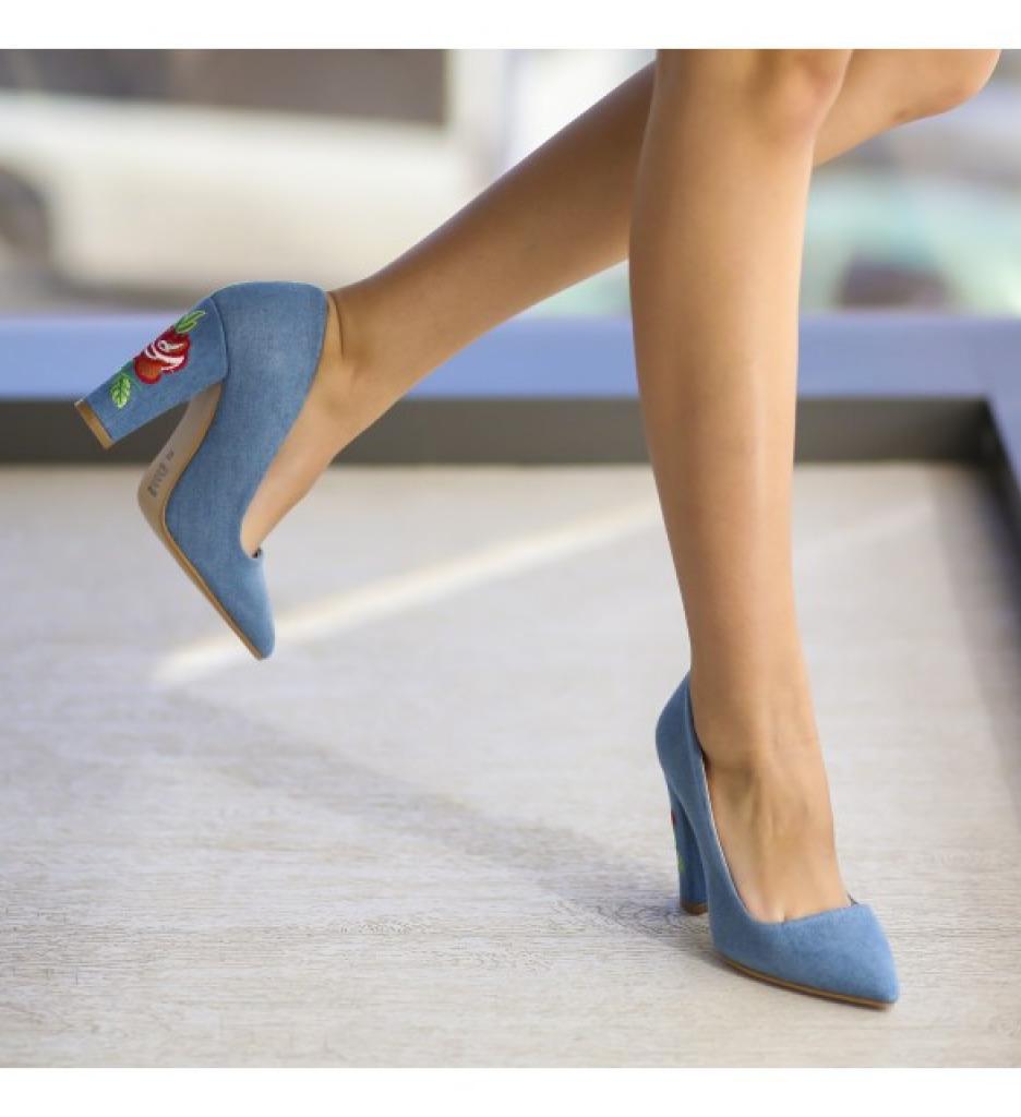 Обувки Гими Сини