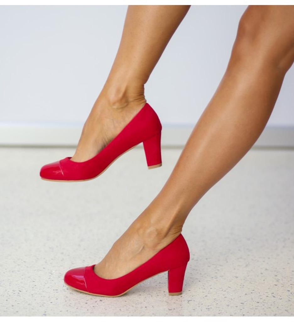 Обувки Соно Червени