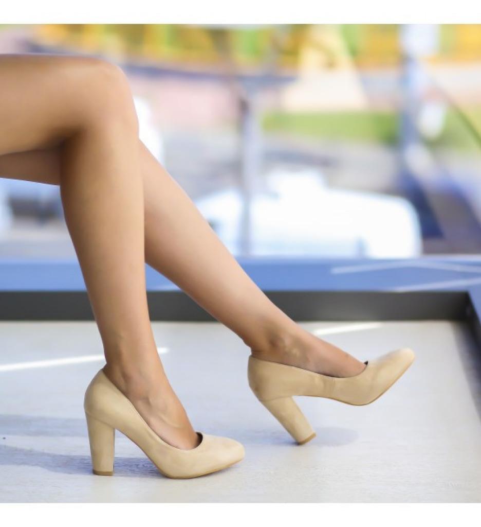 Обувки Фокс Бежови