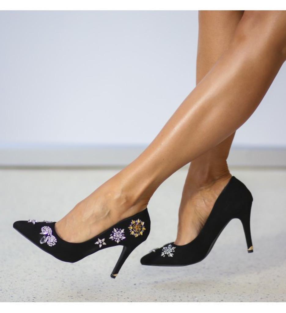 Обувки Хабиби Черни