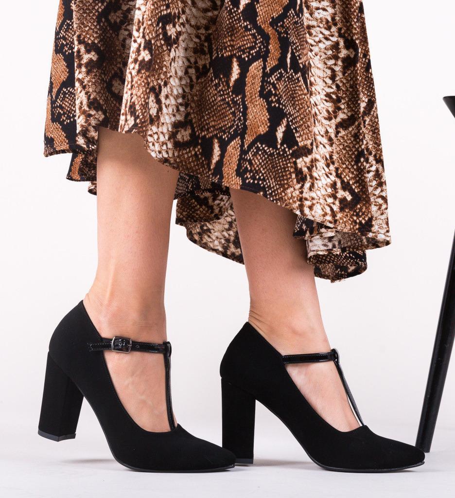 Обувки Oliver Черни