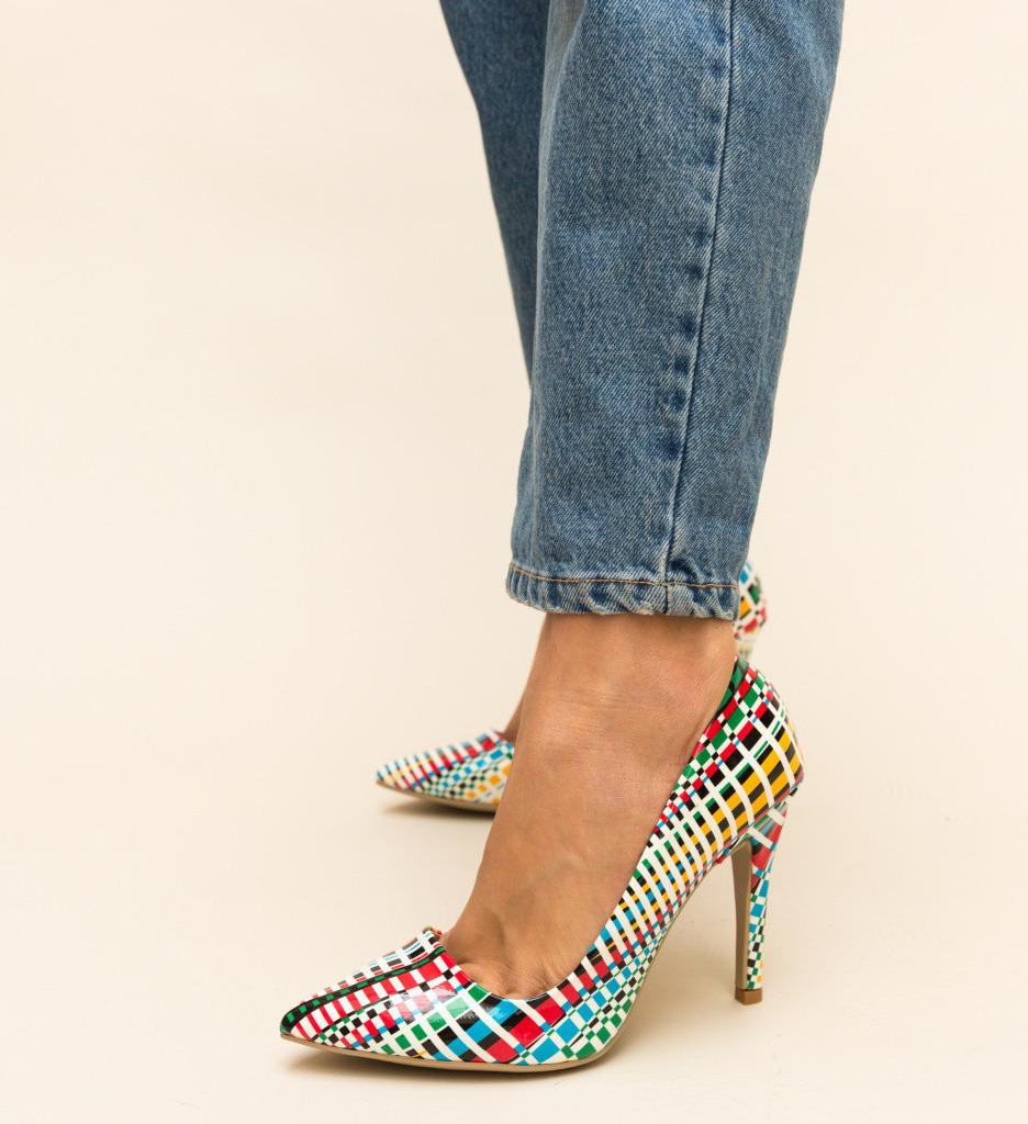 Обувки West Многоцветни