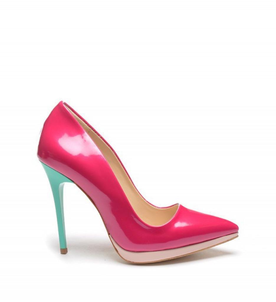 Обувки Вискоти Фуксин