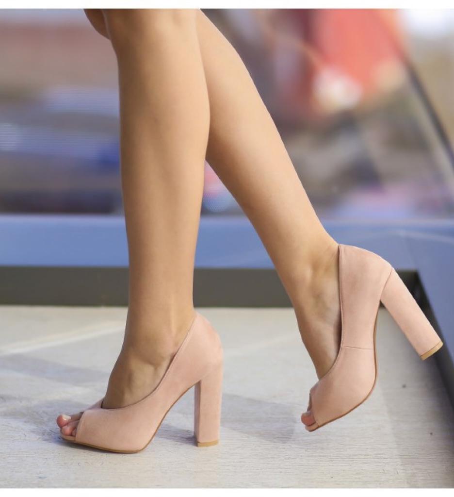 Обувки Гутес Розови