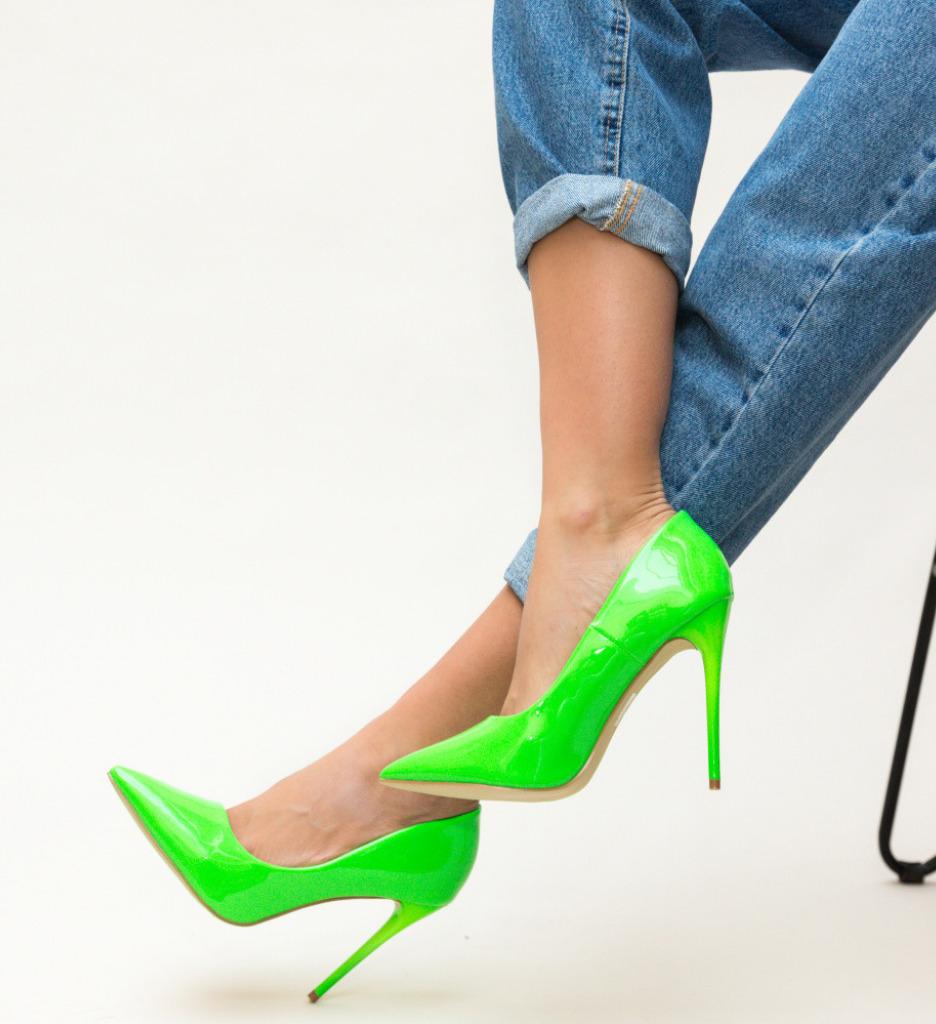 Обувки Ameen Зелени
